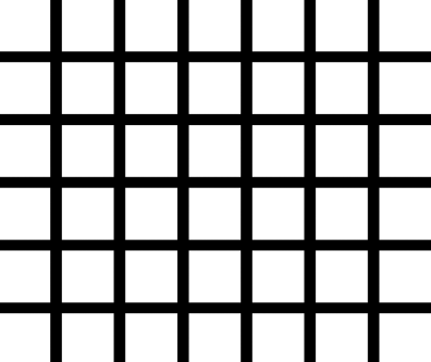 hermann grid the illusions index